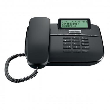 Телефон проводной Gigaset DA611 черный