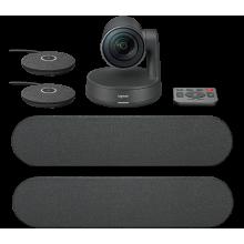 Камера Web Logitech Rally Plus черный USB2.0 с микрофоном