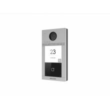 Видеопанель Hikvision DS-KV8113-WME1/Flush цвет панели серебристый