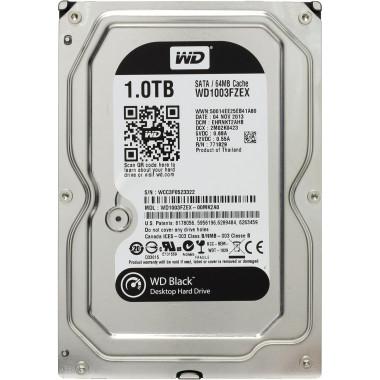 Жесткий диск WD Original SATA-III 1Tb WD1003FZEX Black (7200rpm) 64Mb 3.5