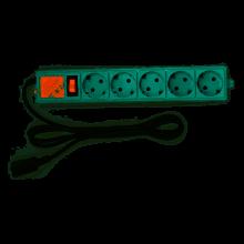 Сетевой фильтр Powercube SPG-B-6Ext 1.9м (5 розеток) серый (коробка)