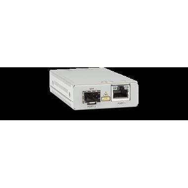 Медиаконвертер Allied Telesis AT-MMC2000/SP-960 TAA Federal 10/100/1000T to 100/1000X/SFP Media/Rate Multi-region PSU