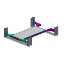 Комплект для монтажа Mellanox MTEF-KIT-E single switch into standard depth racks