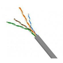 Кабель информационный Molex LITE CAA-00184 кат.5е U/UTP не экранированный 4X2X24AWG PVC внутренний 305м серый