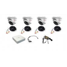 Комплект видеонаблюдения HiWatch R-HD-4 исп. 1