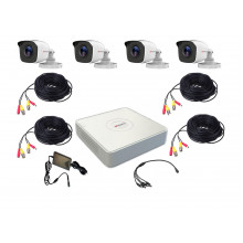 Комплект видеонаблюдения HiWatch R-HD-4 исп. 2