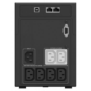 ИБП Ippon Smart Power Pro II 1200 (720Вт, 1200ВА, черный)