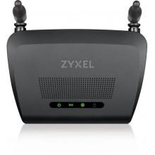 Роутер беспроводной Zyxel NBG-418N v2 (NBG-418NV2-EU0101F) N300 10/100BASE-TX черный