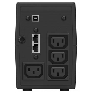 ИБП Ippon Back Power Pro II 800 (480Вт, 800ВА, черный)