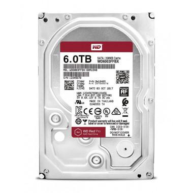 Жесткий диск WD Original SATA-III 6Tb WD6003FFBX NAS Red Pro (7200rpm) 256Mb 3.5