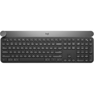 Клавиатура Logitech Craft черный/серый USB беспроводная BT slim Multimedia