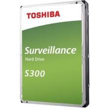 Жесткий диск Toshiba SATA-III 6Tb HDWT360UZSVA Surveillance S300 (7200rpm) 256Mb 3.5