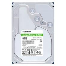 Жесткий диск Toshiba SATA-III 8Tb HDWT380UZSVA Surveillance S300 (7200rpm) 256Mb 3.5