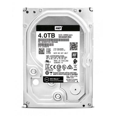 Жесткий диск WD Original SATA-III 4Tb WD4005FZBX Black (7200rpm) 256Mb 3.5