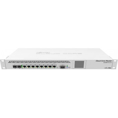 Роутер MikroTik CCR1009-7G-1C-1S+ 10/100/1000BASE-TX белый