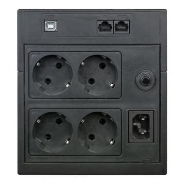 ИБП Powercom Raptor RPT-1025AP LCD (615Вт, 1025ВА, черный)