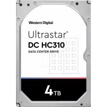 Жесткий диск WD Original SATA-III 4Tb 0B35950 HUS726T4TALA6L4 Ultrastar DC HC310 512N (7200rpm) 256Mb 3.5