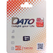 Флеш карта microSDHC 32Gb Class10 Dato DTTF032GUIC10 w/o adapter