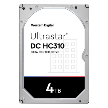 Жесткий диск WD Original SAS 3.0 4Tb 0B36048 HUS726T4TAL5204 Ultrastar DC HC310 (7200rpm) 256Mb 3.5