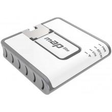 Точка доступа MikroTik mAP lite (RBMAPL-2ND) Wi-Fi белый