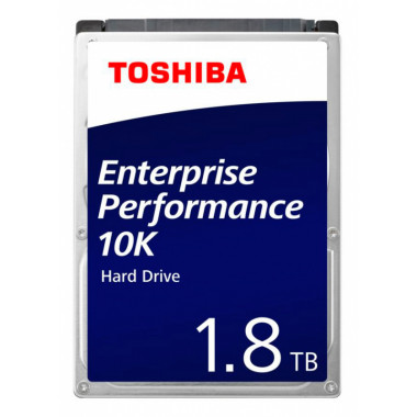 Жесткий диск Toshiba SAS 3.0 1800Gb AL15SEB18EQ (10500rpm) 128Mb 2.5