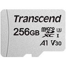 Флеш карта microSDXC 256Gb Class10 Transcend TS256GUSD300S-A + adapter