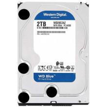 Жесткий диск WD Original SATA-III 2Tb WD20EZAZ Blue (5400rpm) 256Mb 3.5