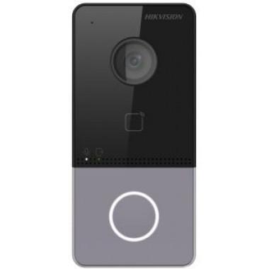 Видеопанель Hikvision DS-KV6113-PE1 цвет панели серый