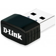 Сетевой адаптер WiFi D-Link DWA-131/F1A DWA-131 USB 2.0 (ант.внутр.) 1ант.