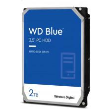 Жесткий диск WD Original SATA-III 2Tb WD20EZBX Blue (7200rpm) 256Mb 3.5