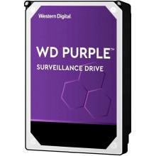 Жесткий диск WD Original SATA-III 8Tb WD84PURZ Purple (5640rpm) 128Mb 3.5