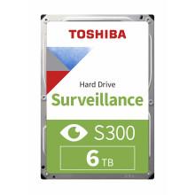 Жесткий диск Toshiba SATA-III 6Tb HDWT860UZSVA Surveillance S300 (5400rpm) 256Mb 3.5