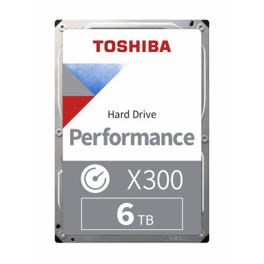 Жесткий диск Toshiba SATA-III 6Tb HDWR460UZSVA X300 (7200rpm) 256Mb 3.5