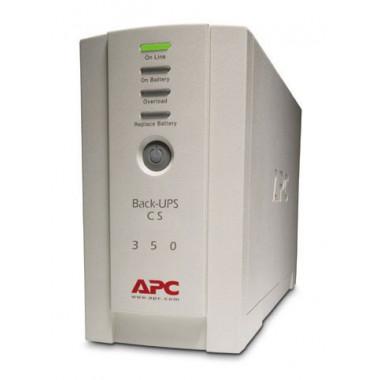ИБП APC Back-UPS BK350EI 210Вт 350ВА белый