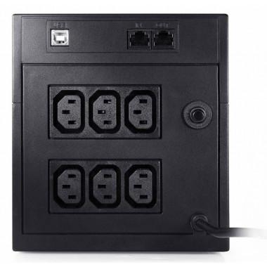 ИБП Powercom Raptor RPT-2000AP (1200Вт, 2000ВА, черный)