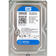 Жесткий диск WD Original SATA-III 500Gb WD5000AZRZ Blue (5400rpm) 64Mb 3.5