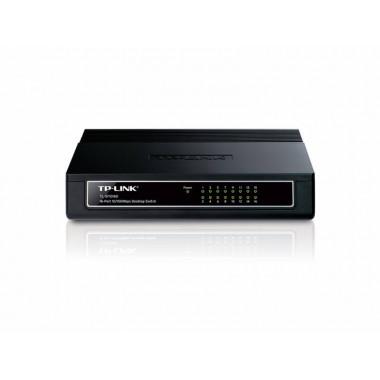 Коммутатор TP-Link TL-SF1016D 16x100Mb неуправляемый