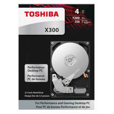 Жесткий диск Toshiba SATA-III 4Tb HDWE140EZSTA X300 (7200rpm) 128Mb 3.5
