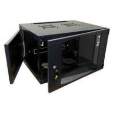 Шкаф коммутационный Lanmaster Next TWT-CBWNG-9U-6X6-BK 9U 550x600мм пер.дв.стекл 60кг черный