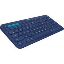 Клавиатура Logitech Multi-Device K380 темно-серый беспроводная BT slim Multimedia для ноутбука