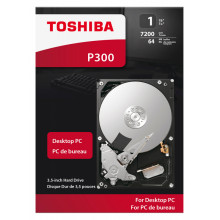 Жесткий диск Toshiba SATA-III 1Tb HDWD110EZSTA P300 (7200rpm) 64Mb 3.5