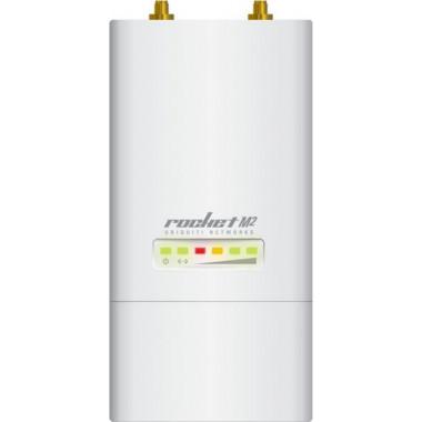 Точка доступа Ubiquiti RocketM2 10/100BASE-TX белый