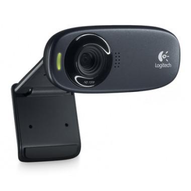 Камера Web Logitech HD Webcam C310 черный USB2.0 с микрофоном