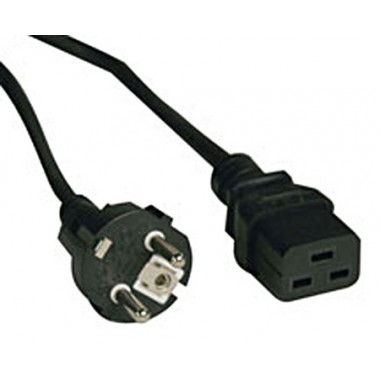 Кабель Tripplite P050-008 2-Prong European Power 16A IEC-320-C19 to S