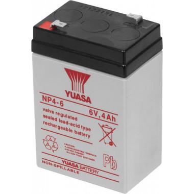 Батарея для ИБП Yuasa NP4-6 6В 4Ач для Yuasa