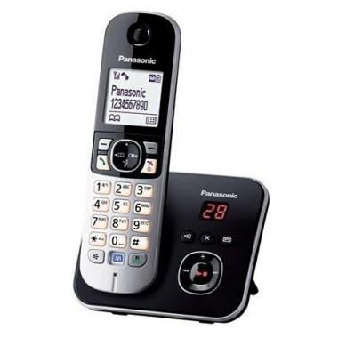 Р/Телефон Dect Panasonic KX-TG6821RUB черный автооветчик АОН