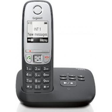 Р/Телефон Dect Gigaset C430 черный/серебристый АОН