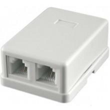Разъем Ningbo TLUS-023 RJ-11 2-ports 2х6р4с
