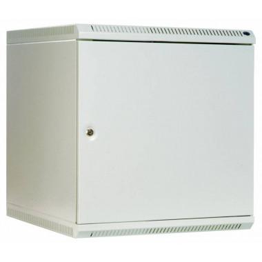 Шкаф коммутационный ЦМО ШРН-9.480.1 9U 600x480мм пер.дв.металл несъемн.бок.пан. 50кг серый