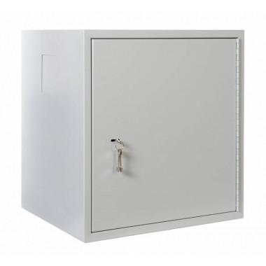 Шкаф коммутационный ЦМО ШРН-А-9.520 9U 600x525мм пер.дв.стал.лист несъемн.бок.пан. серый